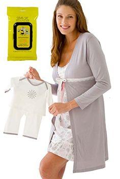 a56b65164 Las 33 mejores imágenes de Descanso camisones y pijamas de lactancia ...