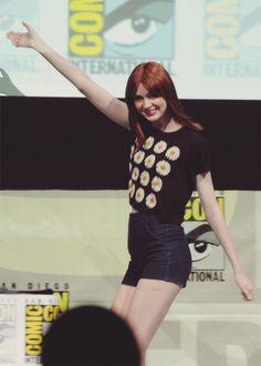 ❦ Karen at the Marvel Panel