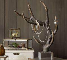 DIY Ideas For Creative Use Of Antlers For Home Decoration