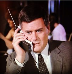 Only millionaires had cellphones in the 80ies...