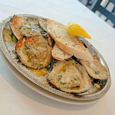 2014 Louisiana Seafood Festival #Seafood #Louisiana #Lifestyle #Holidays/Celebrations ♨Chargrilled Oysters from The Royal House Oyster Bar in New Orleans ♨