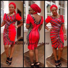 Need some tips and tricks for building an Ankara/African prints wear wardrobe? Looking great for that occasion/date of yours without the drama and fuss can be easy when you know… Latest Ankara Short Gown, Ankara Short Gown Styles, Short Gowns, Ankara Gowns, African Attire, African Wear, African Dress, African Style, Stylish Gown