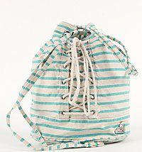 Love this cinch top Roxy bag