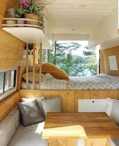 Check out this amazing build from three_vanlifers. them on for more images.If you need any help with designs, ideas or even the full build of your custom camper get in touch. We can build a camper to your requirements. Van Conversion Interior, Camper Van Conversion Diy, Van Interior, Camper Interior, Converted Vans, Custom Campers, Custom Camper Vans, Rv Campers, Build A Camper