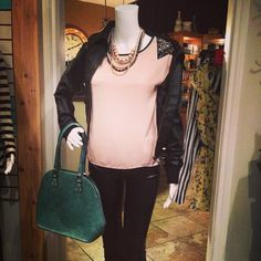 Come and see some of our amazing clothes in our boutique!! Layering options perfect for fall weather as well as a new shipment of adorable handbags! Drop on by today!! #Padgram