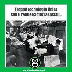 Sono davvero cambiate le cose rispetto a tanti anni fa? #bastardidentro #tecnologia #quotidiano… www.bastardidentro.it