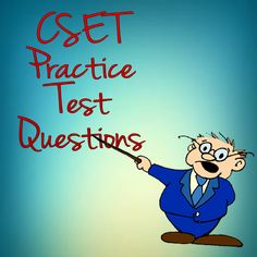 If you live in California and are studying to become a teacher, you need to check out these FREE CSET Practice Test Questions! These CSET practice test questions will help you increase your score on the CSET exam. #cset #teaching