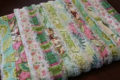 Gorgeous homemade baby blankets!!