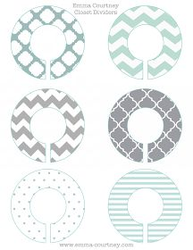 Discover thousands of images about Emma Courtney: Closet Dividers Printable Baby Clothes Dividers, Closet Dividers, Closet Planner, Closet Labels, Baby Shower Gifts, Baby Gifts, Organizar Closet, Image Deco, Baby Closet Organization