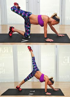 Sculpt Lean, Strong Stems With a Tracy Anderson Workout: The reason that the celebrity client list of Tracy Anderson, who's currently a spokesperson for Scünci, continues to tack on new names is the toned and lean results clients achieve through her vigorous dance-inspired classes.