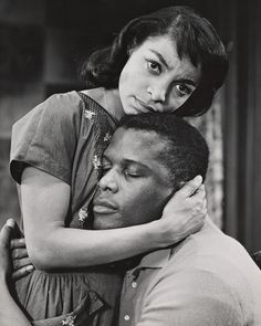 "Legends :   Ruby Dee (1922-2014) achieved her breakout role, in 1959, opposite Sidney Poitier, in the Broadway drama, ""A Raisin in the Sun"" written by Playwright, Lorraine Hansberry. The title of the play is taken from Langston Hughes's famous poem ""Harlem.""  ""A Raisin in the Sun"" was the first play by an African-American woman to be produced on Broadway.   (The New York Public Library, Billy Rose Theatre Division.)"