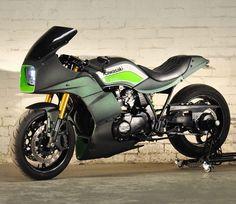 """On BikeBound.com: '83 GPz750 """"Saki"""" by @notacaferacer.  http://ift.tt/2ifoUfU  #gpz750 #restomod not #caferacer"""