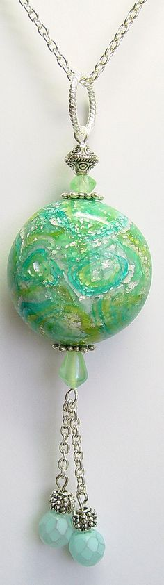 Polymer Clay Mokume Gane Pod | Flickr - Photo Sharing!
