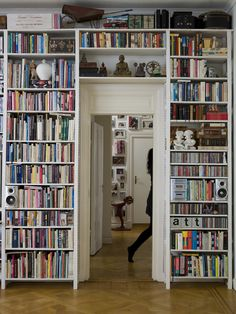 Plenty of books. (Home on Tegnérgatan)