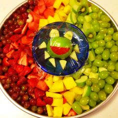 Muppets birthday fruit salad