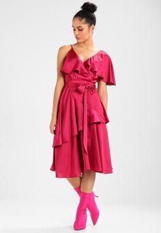 Lost Ink DECONSTRUCTED TEA DRESS - Sukienka koktajlowa - pink za 229 zł (21.02.18) zamów bezpłatnie na Zalando.pl.
