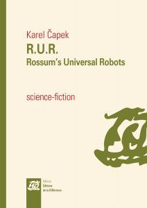 Karel Čapek – Rossum's Universal Robots (R. Robots, Writers, Science Fiction, Theatre, Sci Fi, Mantle, Robotics, Sign Writer, Theater