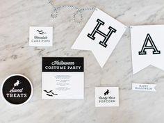 Halloween FREE Printable Designs | The TomKat Studio for HGTV