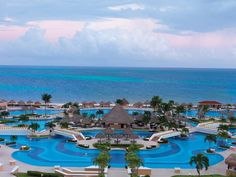 Moon Palace Golf & Spa Resort in Cancun. Cancun had the clearest, whitest beaches I had ever seen, but I wasn't thrilled with the city. Cancun Vacation, Resort Spa, Dream Vacations, Vacation Spots, Vacation Ideas, Vacation Destinations, Vacation Places, Tropical Vacations, Beach Resorts