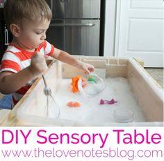 Sensory Table | The Love Notes Blog