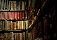 The Library: Love to browse through old books