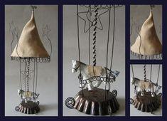wire linen mache