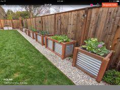 Garden Design For Kids Raised bed containers.Garden Design For Kids Raised bed containers Garden Yard Ideas, Backyard Projects, Garden Boxes, Outdoor Projects, Lawn And Garden, Garden Projects, Herb Garden, Big Garden, Rooftop Garden