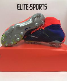 fb58f44b6 Nike Hypervenom Phantom III DF FG Firm Ground Soccer Cleats 905274 408