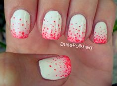 How To Do The Stippling Gradient Nails   Beauty Tutorials