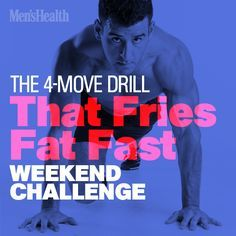 Make your lungs and lower-body burn with this explosive weekend challenge. http://www.menshealth.com/fitness/4-move-drill-fries-fat-fast?cid=soc_pinterest_content-fitness_sept14_4movedrillfriesfat