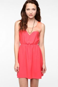 Johann Earl for Urban Renewal Go Lightly Tank Top Dress by love