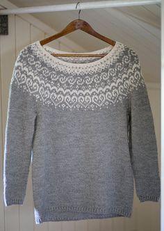 Knitting Sweaters Norwegian Free Pattern 62 Ideas For 2019 Fair Isle Knitting Patterns, Fair Isle Pattern, Sweater Knitting Patterns, Baby Knitting, Knitting Sweaters, Vintage Knitting, Free Knitting, Work Tops, Knitted Gloves