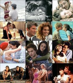 Best movie couples. EVER. Not in order.