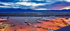 Feast Your Eyes On This Mesmerizing Timelapse Of Airport Logistics Salt Lake City Airport, Just Go, Let It Be, Dubai Airport, Flight Deck, Worlds Largest, Backdrops, Journey, Golden Sun
