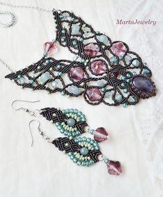 Macrame set by MartaJewelry