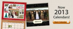 Calendars from Mixbook. - Not sure what to get Grandma & Grandpa for Christmas? Why not create a Mixbook calendar with the year's best photos of the grandkids? Twelve months of smiles that will bring more smiles & warm their hearts.