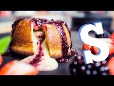 White Chocolate Lava Cake Recipe - SORTED - YouTube
