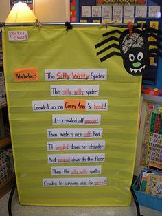 S for Spider: Itsy Bitsy Spider revised (HW?)