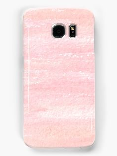 Pink Grunge Samsung Galaxy Case by Anastasia Shemetova #watercolor #paint #painting #faerieshop #watercolour #art #artistic #creative #pink #grunge #pastel #texture #background #girlish #cool #modern #abstract #pattern #redbubble #accessories #skin #phone
