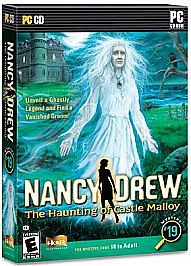 New Nancy Drew: Haunting Of Castle Malloy  PC CD Games Mystery #19