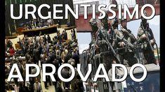 Urgente: Câmara aprova intervenção federal na segurança pública do Rio d...