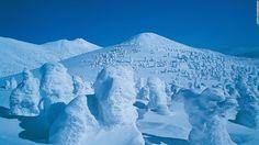 Sixteen mountains make up Aomori's Hakkoda range, of which Mount Odake is the main peak.