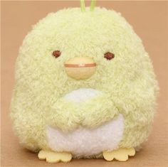 kawaii green Sumikkogurashi penguin plush charm