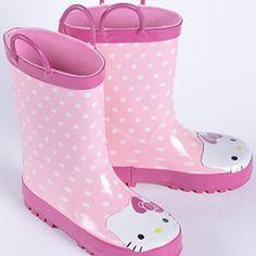 (26.91$)  Watch now  - Hello Kitty Rubber Rain Boots Children,Girls Kids Rain Boots,Boys Baby Rain Boots,Water Shoes Toddler,Bota Menina,Botas Infantil