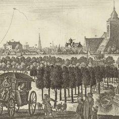 Gezicht op Utrecht vanuit het westen, (plaat II), Herman Saftleven, 1684 - Utrecht-Verzameld werk van Rijksmuseum - Alle Rijksstudio's - Rijksstudio - Rijksmuseum