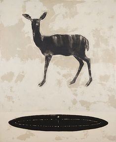 OSMO RAUHALA, CAPRICORN. Bukowski, Capricorn, Moose Art, Auction, Animals, Animales, Animaux, Animal, Animais