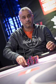 Mohamed Cheikh termine à la 4e place de cette 5e édition du Winamax Poker Tour. La finale #WiPT 2015/2016 au Cercle Clichy Montmartre. Crédit photo: Caroline Tribot #Winamax #Poker #CCM
