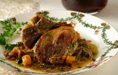 Greek Recipes, Meat Recipes, Pork Meat, Beef, Pot Roast, Food And Drink, Cooking, Ethnic Recipes, Meat Food