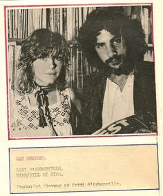 Cat Stevens and Patti D'Arbanville