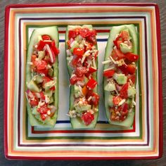3 boats on a plate